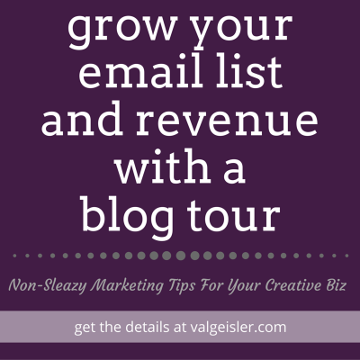 how to grow your list (and revenue) with a blog tour: part 1