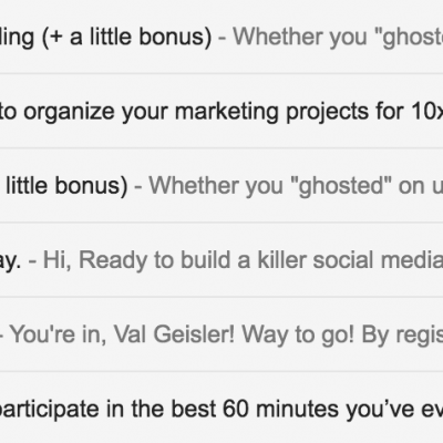 Email Onboarding Tear Down, Webinar Edition: CoSchedule