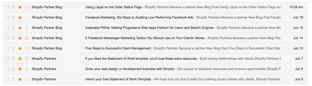 Email Onboarding Tear Down, Content Upgrade Edition: Shopify